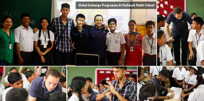 Global Exchange Programme at Hallmark Public School