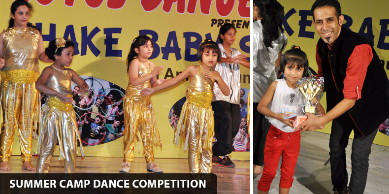 Summer Camp Dance Competition 2014