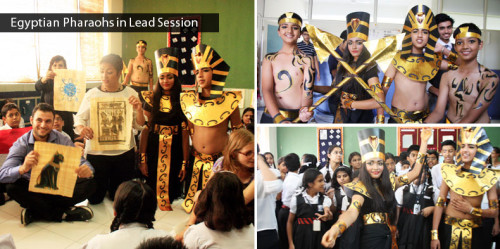 Egyptian Pharaohs in Lead Session
