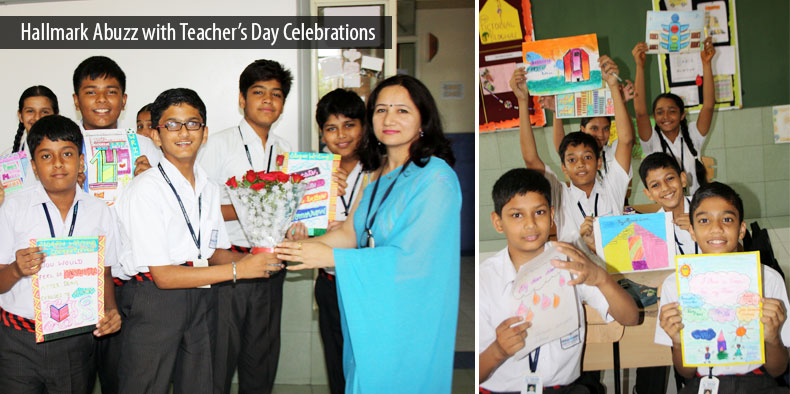Hallmark Abuzz with Teacher's Day Celebrations