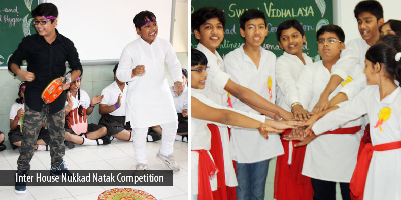 Inter House Nukkad Natak Competition