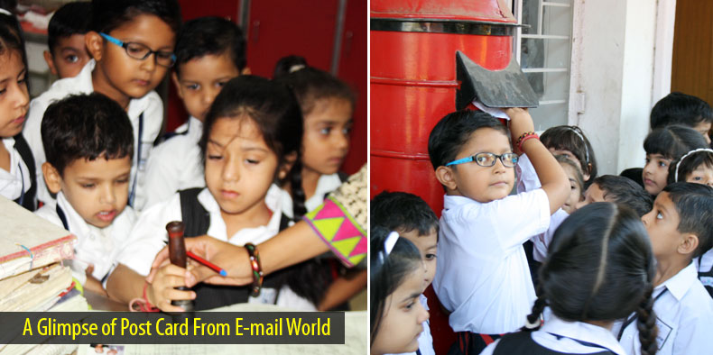 A Glimpse of Post Card From E-mail World