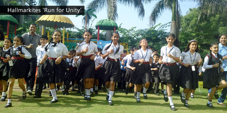Hallmarkites – 'Run for Unity'