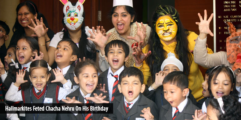 Hallmarkites Feted Chacha Nehru On His Birthday