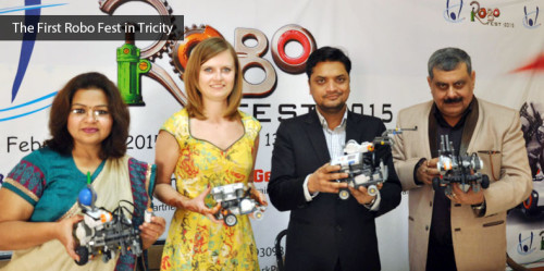 The First Robo Fest in Tricity Feb 11 to Feb 13 , 2015