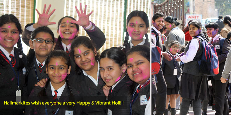 Hallmarkites wish everyone a very Happy & Vibrant Holi!!!