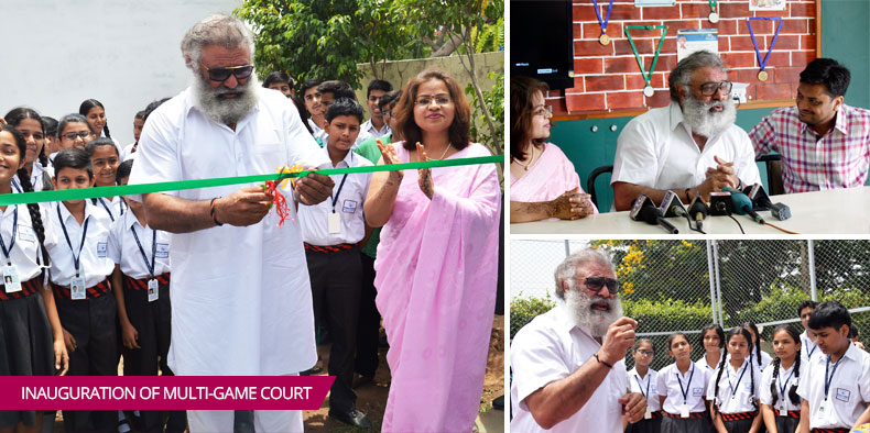Inauguration Of Multi-Game Court
