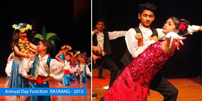 Annual day function  RASRANG – 2015