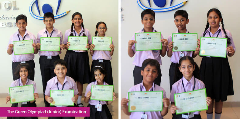 The Green Olympiad (Junior) Examination